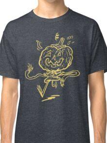 Pumpkin Chum Line Art Classic T-Shirt