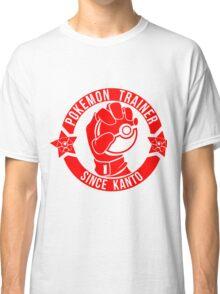 Pokemon Trainer Red Logo FanArt Classic T-Shirt