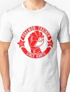 Pokemon Trainer Red Logo FanArt Unisex T-Shirt