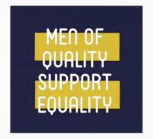 MEN OF QUALITY SUPPORT EQUALITY Kids Tee