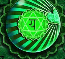Heart Chakra (Background) Sticker
