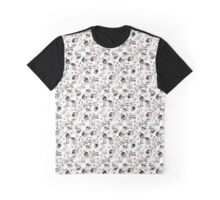 Whimsical flowers Graphic T-Shirt