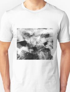 Abstract Charcoal Unisex T-Shirt