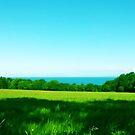 Sea on the horizon by IamJane--