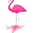 FLAMINGO PRINT by nicholasdamen