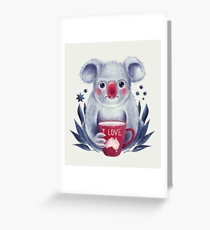 I♥Australia Greeting Card