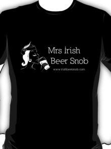 Mrs Irish Beer Snob T-Shirt
