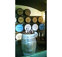 Whiskey Cellar Photographic Print