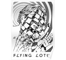 Flying Lotus Dead Man's Tetris Poster
