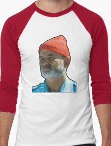 Bill Murray as Steve Sizzou  Men's Baseball ¾ T-Shirt