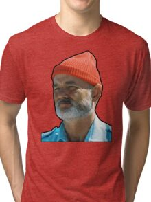 Bill Murray as Steve Sizzou  Tri-blend T-Shirt