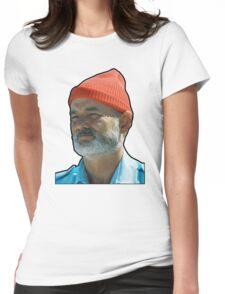Bill Murray as Steve Sizzou  Womens Fitted T-Shirt