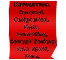 (R)evolution Poster