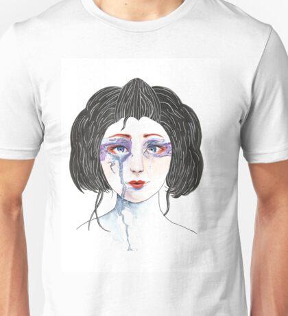 Crying Geisha Unisex T-Shirt