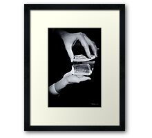 Magic Hands Framed Print