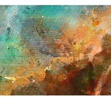 Omega/Swan Nebula - Watercolour Photographic Print