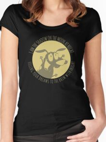 the Nightmare Before Courage Women's Fitted Scoop T-Shirt