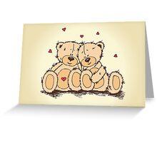Teddies Lovers Greeting Card