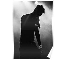 21 Savage Black & White Poster