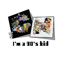 I'm a 90's kid Photographic Print