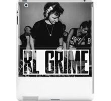 RL GRIME B/W iPad Case/Skin