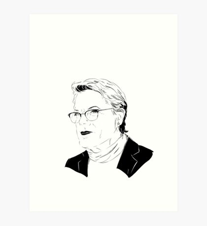 Eddie Izzard, Superhero Art Print