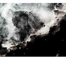 Omega/Swan Nebula - Charcoal Photographic Print