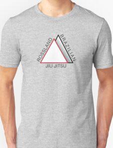 Rossland BJJ logo - Black text Unisex T-Shirt