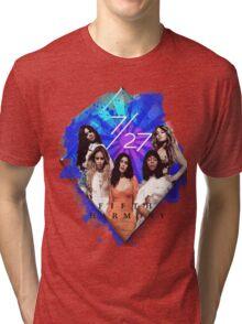 Fifth Harmony 7/27 Blue Tri-blend T-Shirt