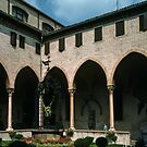 Cloisters of St Anthony Padua Italy 19840729 0032  by Fred Mitchell