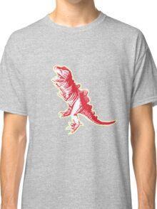 Dino Pop Art - Lime & Red T-Rex Classic T-Shirt