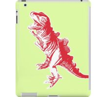 Dino Pop Art - Lime & Red T-Rex iPad Case/Skin