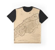 Map Of Tobago 1776 Graphic T-Shirt
