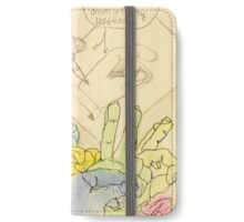 I am Left-Handed iPhone Wallet/Case/Skin