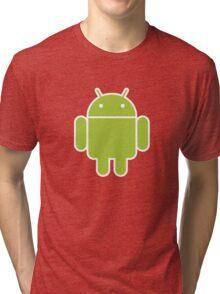 Android logo Tri-blend T-Shirt