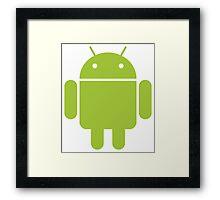 Android logo Framed Print