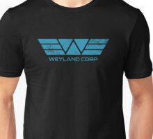Weyland Corp - Distressed Blue Unisex T-Shirt