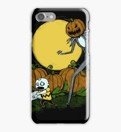 The Great Pumpkin King iPhone Case/Skin