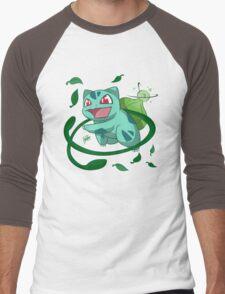 Bulbasaur Attack Men's Baseball ¾ T-Shirt