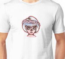 Skull Girl - Pink Unisex T-Shirt