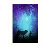 Wolf Whipserer Art Print
