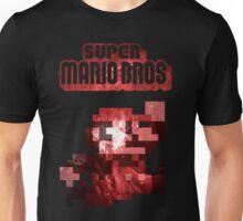 Mario Minimalist Nebula Design Unisex T-Shirt