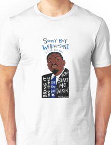 Sonny Boy Williamson II Blues Folk Art Unisex T-Shirt