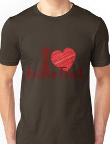 I Love Aaron Tveit Unisex T-Shirt