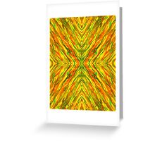 Flow On Greeting Card