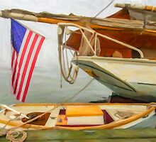 Yellow Boat, New Harbor, Maine by dr-higgins