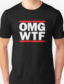 Funny RUN DMC Parody OMG WTF Unisex T-Shirt