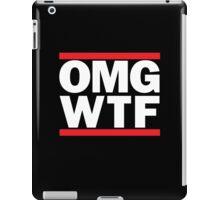 Funny RUN DMC Parody OMG WTF iPad Case/Skin