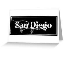 San Diego - Sticker Greeting Card