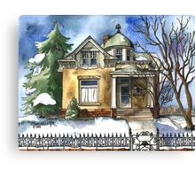 The Brown Bungalow Canvas Print